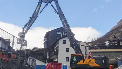 Abbruchbagger – Grosse Maschinen im Einsatz