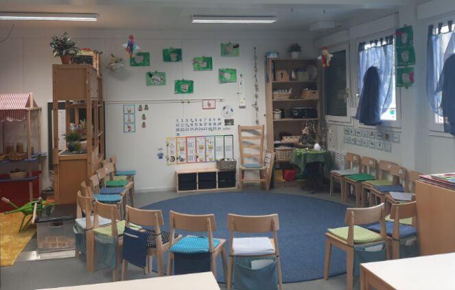 Schulbetrieb in Provisorien 5